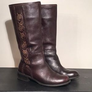 🆕 MATISSE BROWN LEATHER BOOTS